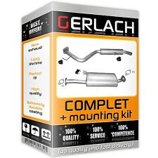 Vauxhall Frontera B 3.2 V6 from 1998 exhaust system silencer *3657