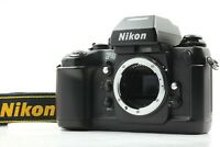 【MINT SN 245××××】 Nikon F4 Late Model Film Camera w/ Strap ,Cap from Japan #1882