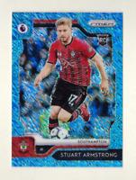 2019 Prizm Premier League STUART ARMSTRONG Rookie Blue Shimmer 8/8 FOTL SP EPL
