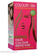 Colour B4 Regular Strength Hair Dye Colour Stripper Removal
