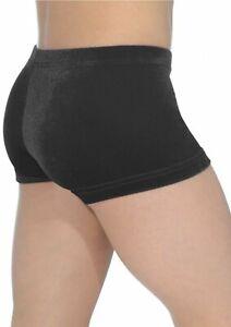 girls gymnastics dance shorts, Black velour shorts, best quality