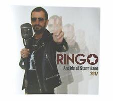 Ringo Starr 2017 Tour Book Program  New Official