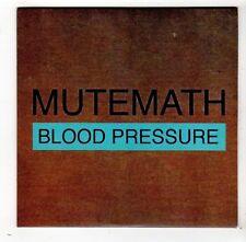 (FW862) Mutemath, Blood Pressure - 2011 DJ CD