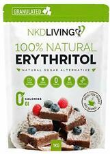 Érythritol Substitut de Sucre Calorie Gratuit 100% naturel non OGM Granulé 1 Kg ...