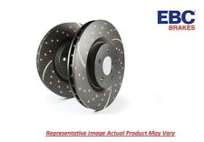 EBC Grooved GD Rotor Pair Rear Vented 273 mm for 1986-1992 Mazda RX7 # GD434
