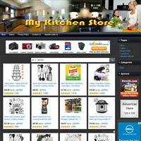 KITCHEN STORE - Funtionally Affiliate Business Website For Sale Free Domain Name