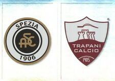 717 SCUDETTO BADGE # SPEZIA CALCIO TRAPANI CALCIO STICKER PANINI CALCIATORI 2020