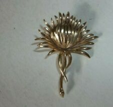 Vtg Trifari Sunflower ? Brooch Pin - GORGEOUS!