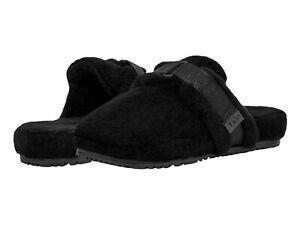 UGG Men's Fluff It Slipper 1118150 Black TNL Fluff Sz 9-13 New