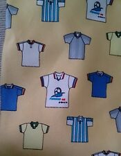 "1994 98 France Coupe Du Monde Soccer Fifa necktie Novelty 3 3/4"" w 60+"" L silk"