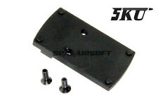 G17 Rear Sight of Slide Mount for MRDS Dot Sight fit Airsoft Marui Army Bell GBB
