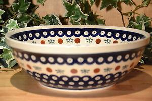 Bunzlauer Keramik  Schüssel Dek. 41 1,5 l (neu)