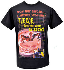 MENS T-SHIRT TERROR FROM THE YEAR 5000 SCI FI HORROR VINTAGE BMOVIE ALIEN S-5XL
