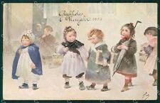 Children Greetings Belcher George Geo Vienne serie 118 postcard cartolina QT6388