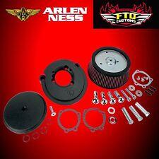 Arlen Ness Black Big Sucker Stage I Air Filter Kit 91-17 Harley Sportster 18-329