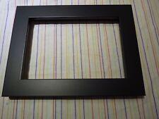 "7"" x 10""  photo frame black"