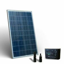 Kit Solare Base 100W 12V Pannello Fotovoltaico Regolatore 10A PWM