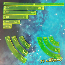 TTCombat - SWT002 - Space Wing Template (Acid Green)