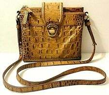 Brahmin Mojito Leather Crossbody Shoulder Purse Bag Card/Wallet Compartment