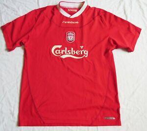 LIVERPOOL FC Reebok Home Shirt 2002/04 (M)