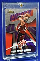 VINCE CARTER TOPPS FINEST CHROME SP RARE TORONTO RAPTORS
