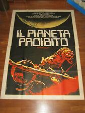 manifesto 4F,IL PIANETA PROIBITO Forbidden Planet WILCOX,PIDGEON,FRANCIS,ROBOT