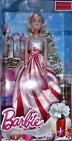 Barbie 2016 Holiday Doll Mattel Puppe DRF66 DNJ47 Kleid Weihnachten Fest Neuware