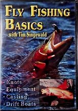 Fly Fishing Basics DVD 2008 New in Wrap