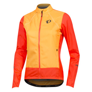 New PEARL IZUMI Women Elite Escape Barrier Convertible Jacket / Vest Packable