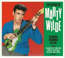 THE VERY BEST OF MARTY WILDE - 2 CD BOX SET - TEENAGER IN LOVE & MORE