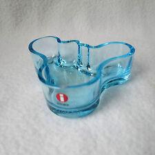 iittala Design Alvar Aalto Collection Bowl Schale hell türkis 98mm gemarkt TOP!