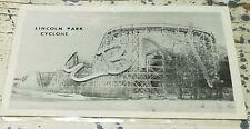 Lincoln Amusement Park Dartmouth MA Comet Roller Coaster B&W Postcard