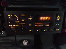 1996-2000 Dodge Stratus AM-FM Radio cassette player OEM amber illumination