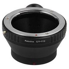 Fotodiox Objektivadapter Zeiss Contax/Yashica (c/y) auf Pentax Q Kamera