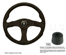 Nardi Challenge 350mm Steering Wheel + Hub for Fiat 850 6089.35.2071 + .1403