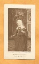 IMAGE PIEUSE HOLY CARD  SAINTE GENEVIEVE BOURDICHON