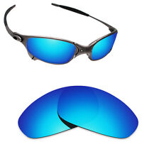 Scratch Proof Polarized Replacement Lenses for-Oakley Juliet Sunglass Ice Blue