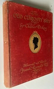 1913 THE OLD CURIOSITY SHOP, 21 LARGE COLOUR PLATES, Charles Dickens, Reynolds