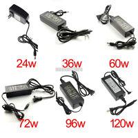 DC 12V 24/36/60/72/96/120W Power Supply Adapter Converter for LED Strip Light