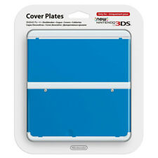 COVER PLATES NEW NINTENDO 3DS AZZURRA COVER DECORATIVA NUOVO