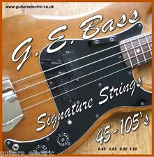 ELECTRIC BASS GUITAR STRINGS 45-105s Light Gauge 0.045 to 0.105