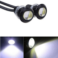2x 9W Eagle Eye Backup Foglight Lamp Bulb Car Auto Motorcycle Black cover