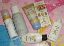Lot beauty box sample items fake nails hair shampoo dry shampoo finishing spray