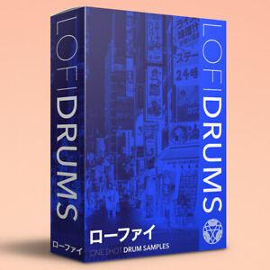800+ LOFI Drum Samples - HIP HOP / BEATS / STUDY / CHILL / ローファイ / ANALOG / WAV