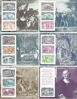 Spain Espana Voyages of Columbus Set of 6 Souv Sheets MNH #2677-2682 Complete