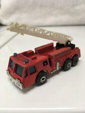 Matchbox Fire Engine Red 1982 Made in Macau