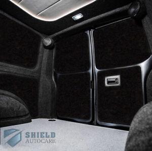 BLACK 4 WAY STRETCH VAN CARPET LINING TRIM FOR CAMPERVAN/MOTORHOME