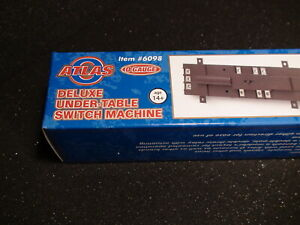 """O-SCALE ATLAS """"O"""" #6098 Deluxe Under-Table Switch Machine"""