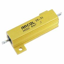 1r ARCOL 50w de aluminio revestido resistor Hs50