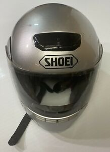 Shoei Syncrotec Flip Up Helmet Size L (7 3/8-7 1/2) See Pictures